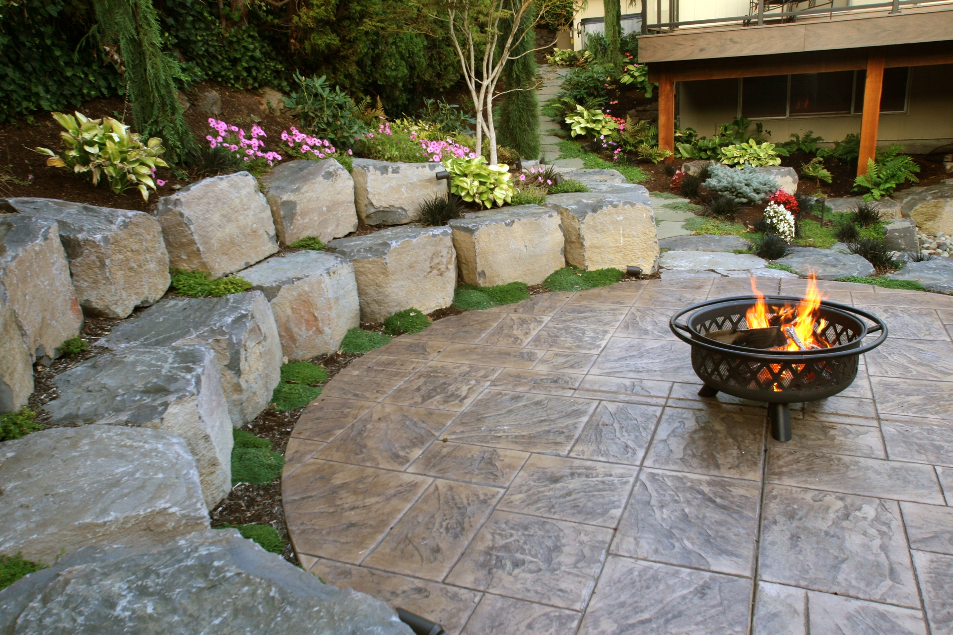 Pavers Hardscape And Retaining Walls Gro Outdoor Living