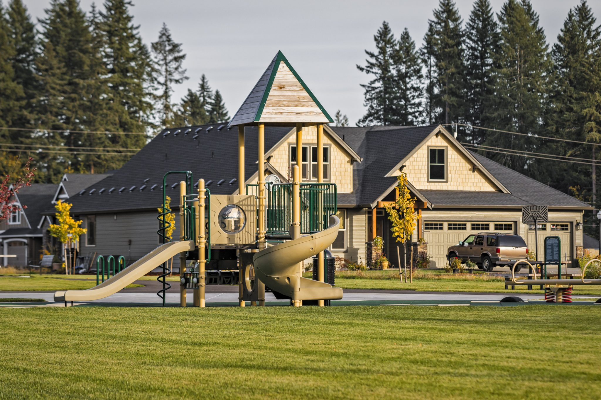 Whispering Pines Park Is Located Inside The Residential Development In Battle Ground Wa Client Wanted A Where Community Members